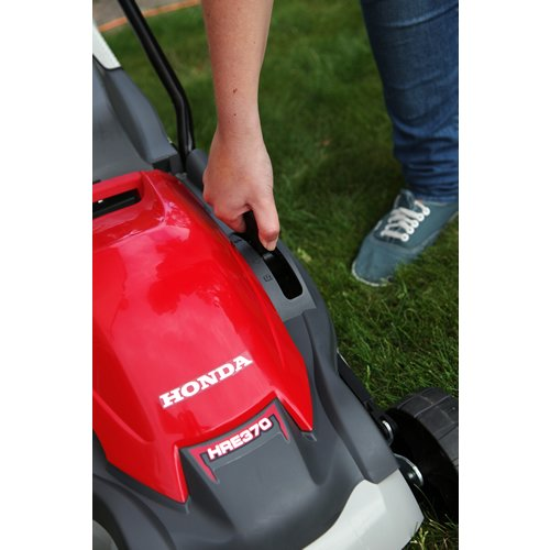 Honda Hre 370 Electric Lawn Mower Review Lawn Mower Wizard