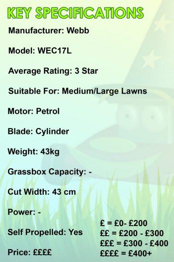 Webb WEC17L