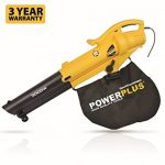 Powerplus 3000 Watt Garden Leaf Blower Review