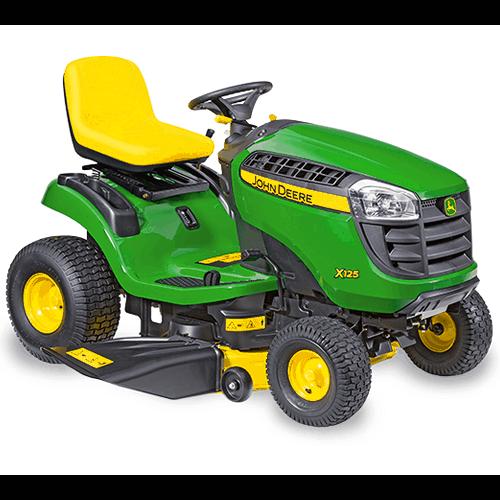 John Deere X125 Ride On Lawn Mower Review Lawn Mower Wizard
